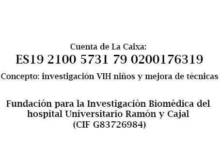 cuenta laboratorio, Bomberos ayudan y hospital Ramon y Cajal