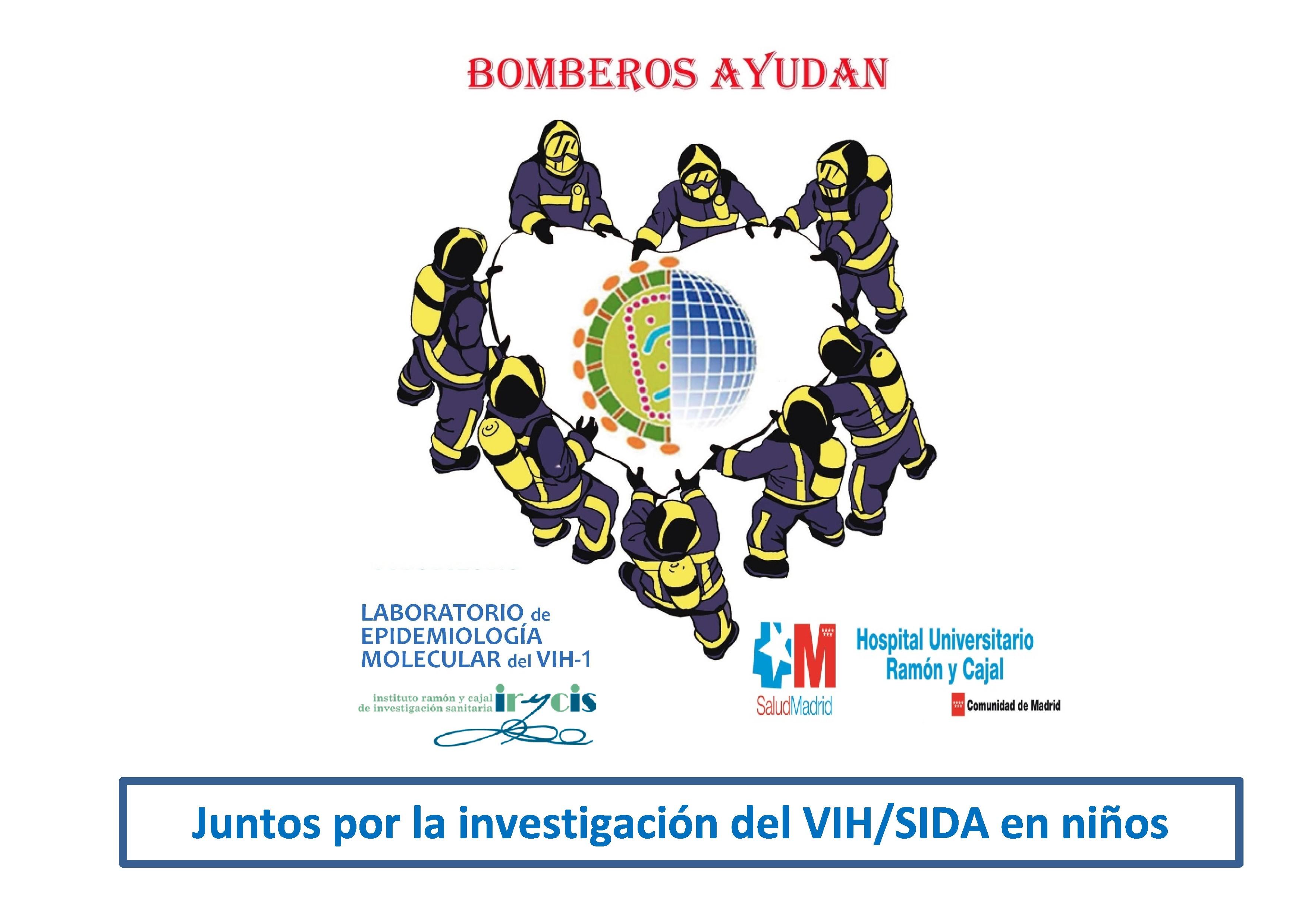 Bomberos ayudan y hospital Ramon y Cajal